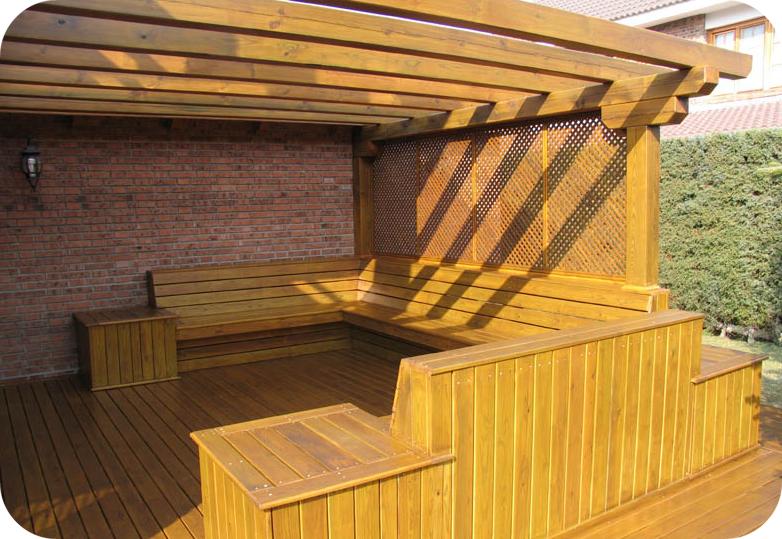 Lofts madrid dise o de exteriores dise o y - Tipos de porches ...